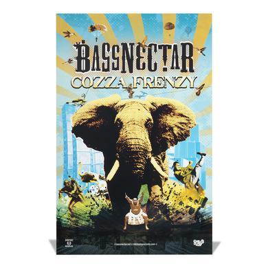 Bassnectar Cozza Frenzy Poster