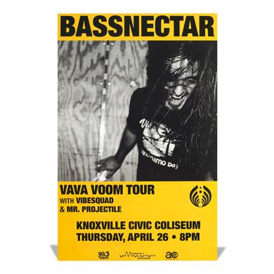 Bassnectar Vava Voom Tour Poster