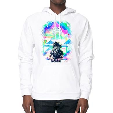 Bassnectar - Lightworks - White Pullover Hoodie