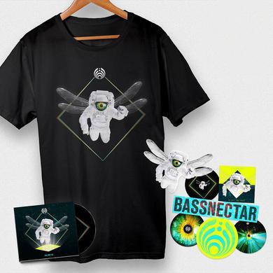 Bassnectar - Unlimited CD + Tee + Sticker Bundle