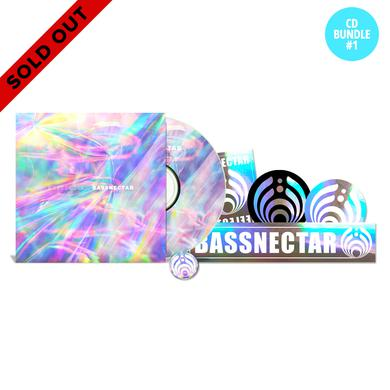 Bassnectar *SOLD OUT* Reflective CD Bundle w/ Pin