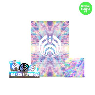 Bassnectar Reflective Digital Bundle w/ Poster