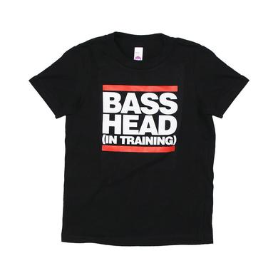 Bassnectar - Bass Head In Training - Black Toddler Tee