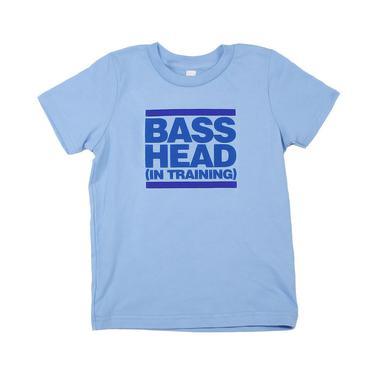 Bassnectar - Bass Head In Training - Blue Toddler Tee