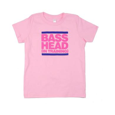 Bassnectar - Bass Head In Training - Pink Toddler Tee