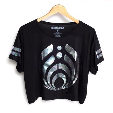 Bassnectar Logo Oil Foil Girls Boxy T-Shirt