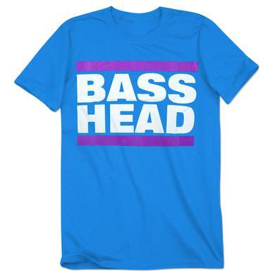 Bassnectar Turquoise Bass Head T Shirt