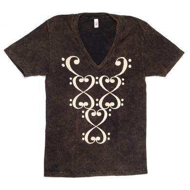 Bassnectar Ladies Topspin T-Shirt - Black