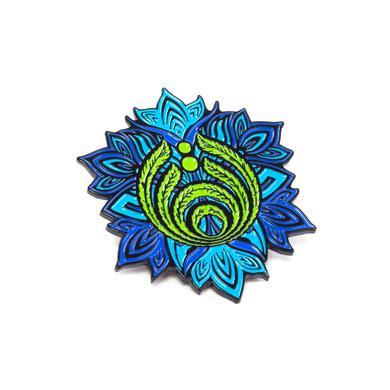 Bassnectar Flower Emblem Pin