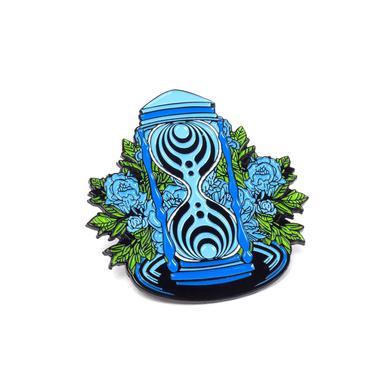 Bassnectar Hourglass Pin – Blue