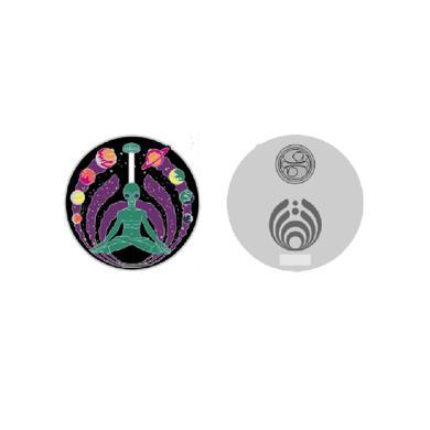Bassnectar Alien Namaste Pin