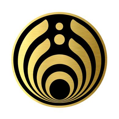 Bassnectar Jumbo Gold Drop Pin