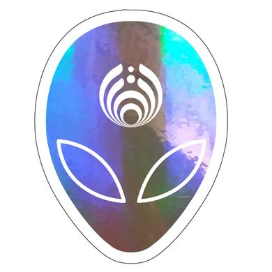 Bassnectar Mothership Holographic Sticker