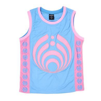 Bassnectar Bassdrop 808 Basketball Jersey - Pink/Blue