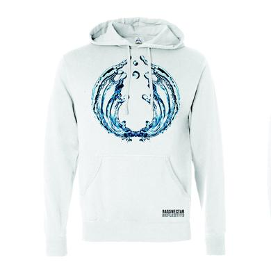 Bassnectar Reflective Part 3 White Hoodie