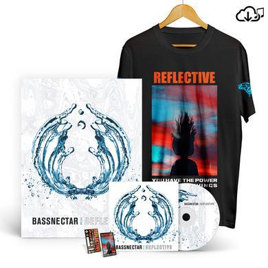 Bassnectar Reflective Part 3 T-Shirt Bundle