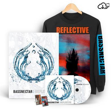 Bassnectar Reflective Part 3 LS T-Shirt Bundle