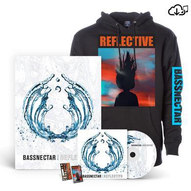 Bassnectar Reflective Part 3 Hoodie Bundle