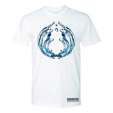 Bassnectar Reflective Part 3 White T-Shirt