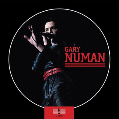Gary Numan 5 Album Box Set CD