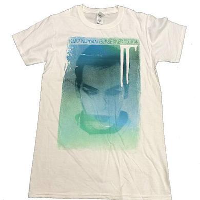 Gary Numan Berserker White T-Shirt
