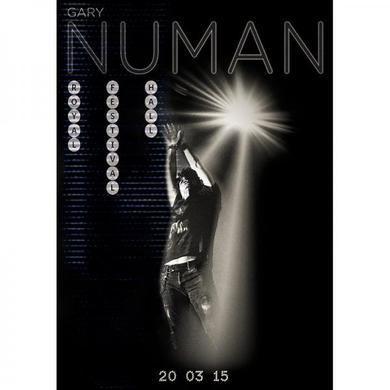 Gary Numan Royal Festival Hall 2015 Poster