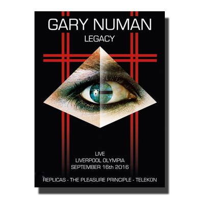 Gary Numan LEGACY. Live at The Olympia, Liverpool. September 16th, 2016 DVD