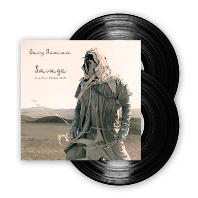Gary Numan Savage Vinyl Double LP