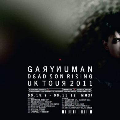 Gary Numan Dead Son Rising Tour Poster