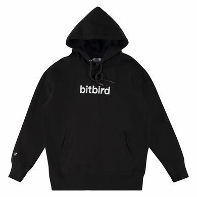 bitbird type hoodie black