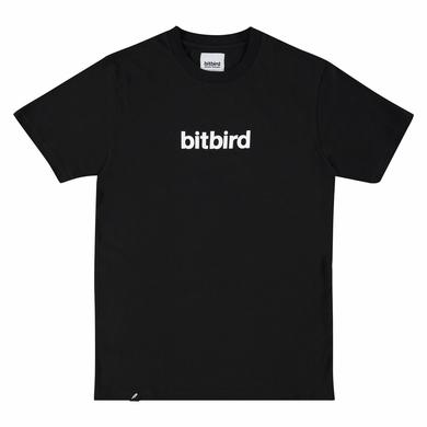 bitbird type tee black