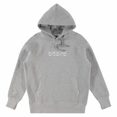 bitbird type hoodie grey