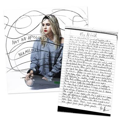 Bea Miller - Not An Apology CD + Lyric Sheet Bundle