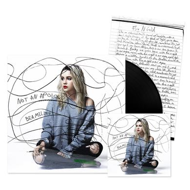 Bea Miller - Not An Apology CD + Lyric Sheet + Vinyl LP DELUXE Bundle