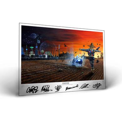 CATS IN SPACE Scarecrow Signed Artwork