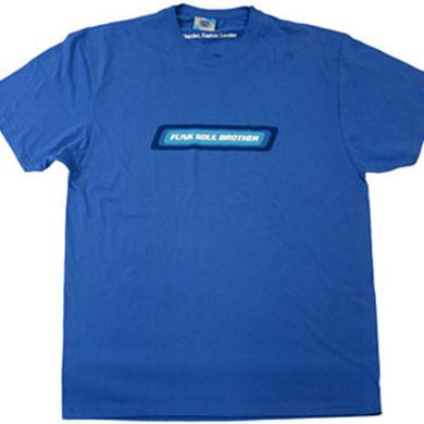 Fatboy Slim Funk Soul Brother Blue T-Shirt