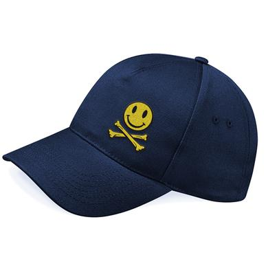Fatboy Slim Smiley Cross Bones Cap
