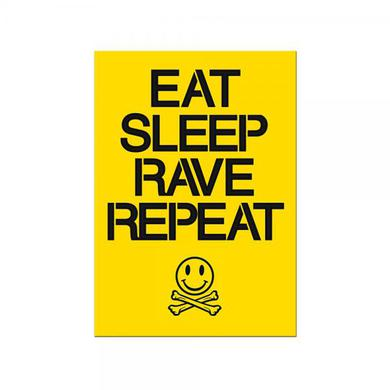 Fatboy Slim Eat Sleep Rave Repeat A3 Poster