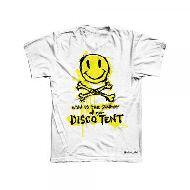 Fatboy Slim Now Is The Summer Of Our Disco Tent White T-Shirt
