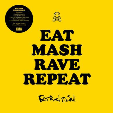Fatboy Slim Eat Mash Rave Repeat Ltd Edition 7-Inch (w/ Scented & Flavoured Edible Insert) 7 Inch