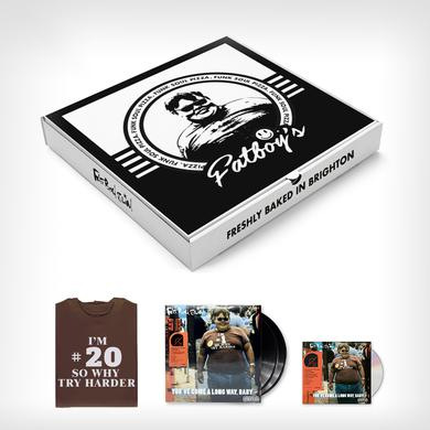 Fatboy Slim 'You've Come A Long Way, Baby' (20th Anniversary Deluxe Edition)  Meal Deal (Signed, Website Exclusive) Boxset