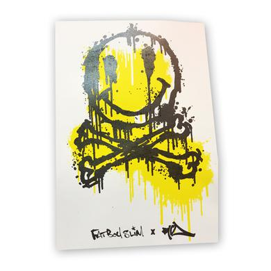 Fatboy Slim Smiley Face Poster