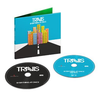 Travis Everything At Once   Deluxe CD/DVD Album CD/DVD