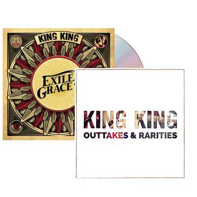 KING KING Exile & Grace CD (Signed) CD