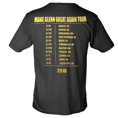Logan Mize Black Make Glenn Great Again Tour Tee