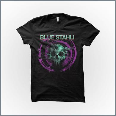 Blue Stahli - Skull v2.0 T-Shirt