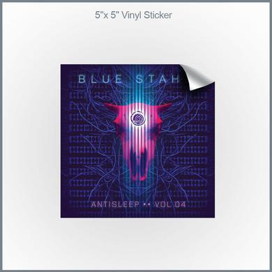 """Blue Stahli - Antisleep Vol. 4 5x5"""" Vinyl Sticker"""