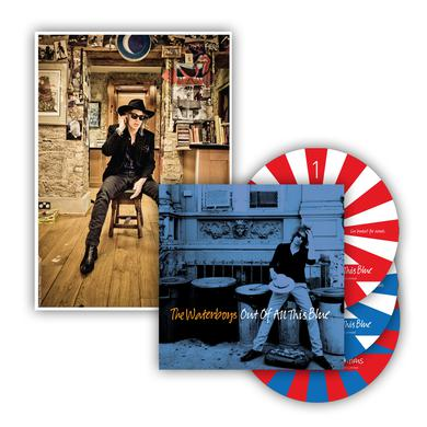 The Waterboys Out Of All This Blue Triple CD Album Deluxe CD