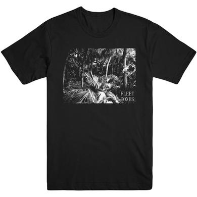 Fleet Foxes Hamaya Palms Tee - Black