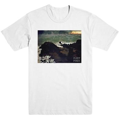 Fleet Foxes Hamaya Cliff Tee - White